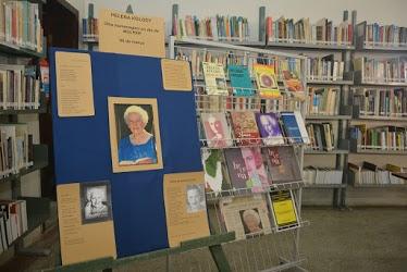 Helena Kolody é homenageada em exposição na Biblioteca do Campus de Irati