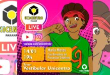Live Unicentro - Vestibular 2021