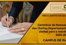 Posse das Chefias Departamentais da Unicentro - Campus Irati
