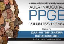 Aula Inaugural do Programa de Pós-Graduação em Educação (PPGE)