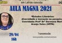 Aula Magna 2021 - Programa de Pós-Graduação em Letras