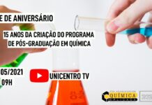 15 anos do Programa de Pós-Graduação em Química