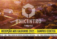 Campus Cedeteg - Recepção aos Calouros 2021 - 19h