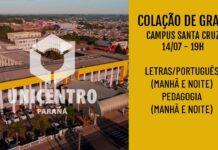Colação de Grau - Campus Santa Cruz - 14/07